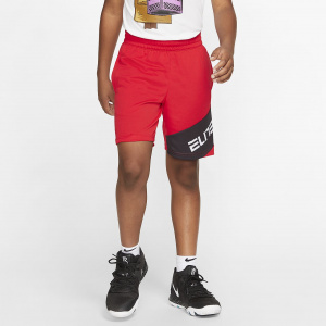 Баскетбольные шорты с графикой для мальчиков школьного возраста Nike Elite CJ8068-657