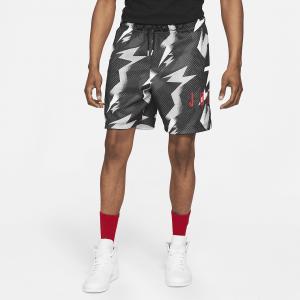 Мужские шорты из сетчатой ткани с принтом Jordan Jumpman Air - Черный
