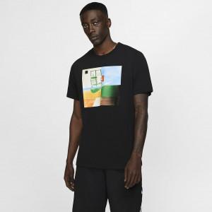 Мужская баскетбольная футболка Nike Dri-FIT Basketball Photo BV8259-010