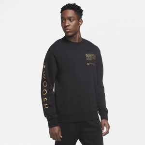 Мужской свитшот Nike Sportswear Swoosh - Черный