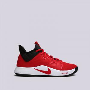 """Баскетбольные кроссовки Nike PG 3 """"University Red"""""""