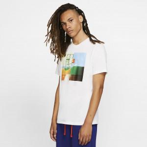 Мужская баскетбольная футболка Nike Dri-FIT Basketball Photo BV8259-100