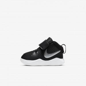 Баскетбольные кроссовки для малышей Nike Team Hustle D 9 AQ4226-001