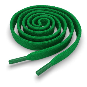 Шнурки плоские 100 см FL-LACE-GRN-100