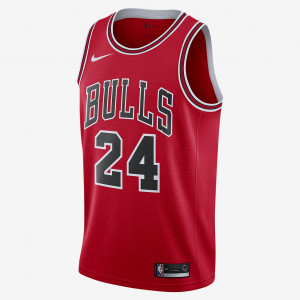 Мужская джерси Nike НБА Lauri Markkanen Icon Edition Swingman (Chicago Bulls) с технологией NikeConnect 864465-664