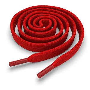 Шнурки плоские 100 см FL-LACE-RED-100