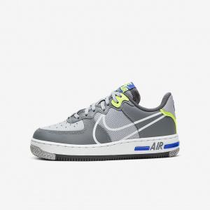 Кроссовки для школьников Nike Air Force 1 React CD6960-002
