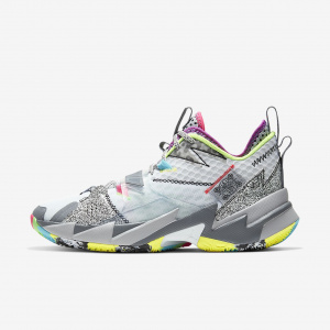 Кроссовки Why Not Zer0.3, White/White-Cool Grey-Wolf Grey