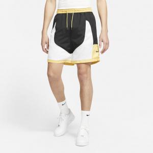 Мужские баскетбольные шорты Nike Throwback - Черный
