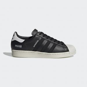 Мужские кроссовки с ярлычком сбокку adidas Superstar FV2809