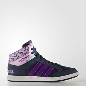 Детские кроссовки adidas Hoops Mid AW4129