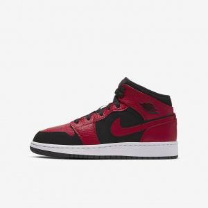 Кроссовки для школьников Air Jordan 1 Mid 554725-054
