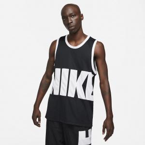 Мужское баскетбольное джерси Nike Dri-FIT - Черный