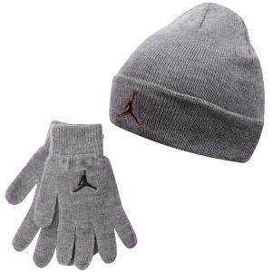 Детский комплект - шапка и перчатки Air Jordan Metal Jumpman Beanie and Glove Set 9A0124-GEH