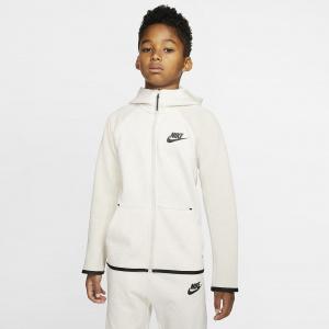 Куртка с молнией во всю длину для школьников Nike Sportswear Tech Fleece AR4020-104