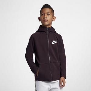 Куртка с молнией во всю длину для школьников Nike Sportswear Tech Fleece AR4020-659