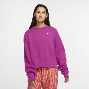 Женский флисовый свитшот Nike Sportswear Essential - Пурпурный