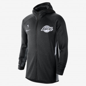 Мужская худи НБА Los Angeles Lakers Nike Therma Flex Showtime AT8470-032
