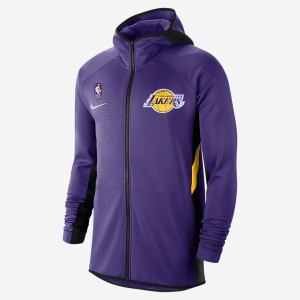 Мужская худи НБА Los Angeles Lakers Nike Therma Flex Showtime AT8470-504