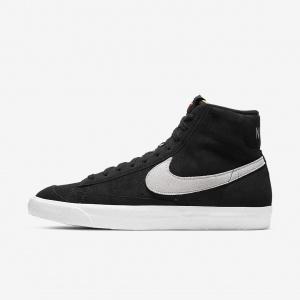 Кроссовки Nike Blazer Mid '77 Suede - Черный