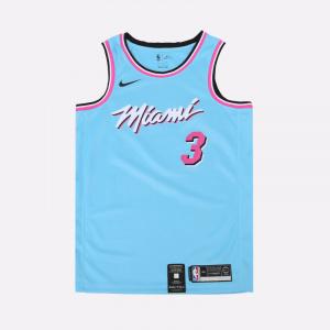 Мужская джерси Nike НБА Swingman Dwyane Wade City Edition AV4650-425
