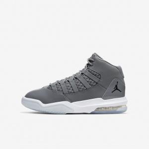 """Детские баскетбольные кроссовки Air Jordan Max Aura GS """"Cool Grey"""""""