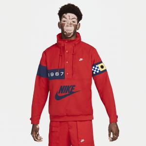 Мужская ветровка из тканого материала Nike Sportswear Reissue - Красный