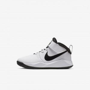 Детские баскетбольные кроссовки Nike Team Hustle D 9 Strap AQ4225-100