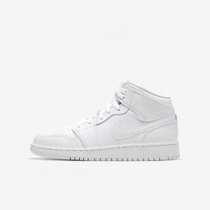 Кроссовки для школьников Air Jordan 1 Mid 554725-126