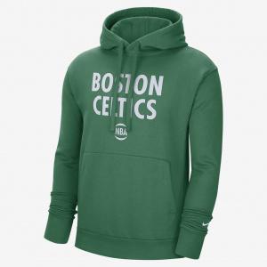 Мужская худи Nike НБА Boston Celtics City Edition Logo - Зеленый