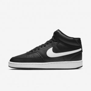 Женские кроссовки NikeCourt Vision Mid - Черный