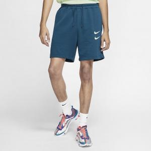 Мужские шорты из ткани френч терри Nike Sportswear Swoosh - Синий