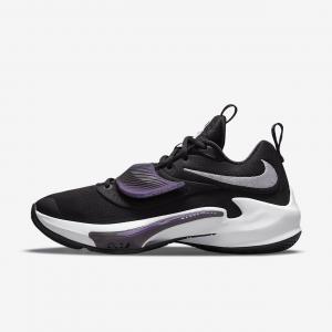 Баскетбольные кроссовки Zoom Freak 3 - Черный