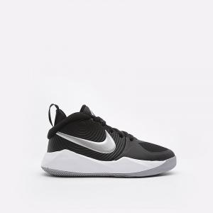Баскетбольные кроссовки для школьников Nike Team Hustle D 9 - Черный