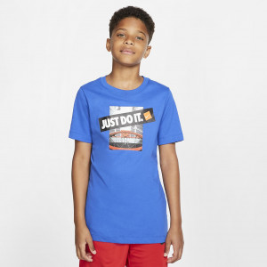 Баскетбольная футболка для школьников Nike Dri-FIT