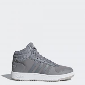Женские зимние кроссовки adidas Hoops 2.0 Mid B42106