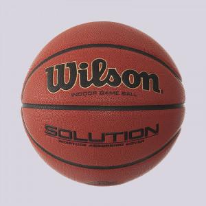 Баскетбольный мяч Wilson Solution b0686x