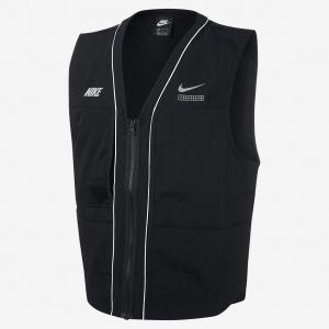 Мужской жилет из тканого материала DNA Nike Sportswear - Черный
