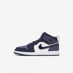Кроссовки для дошкольников Air Jordan 1 Mid 640734-445