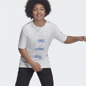 Детская футболка adidas ID Stadium DV1686