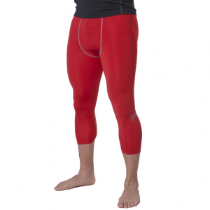 Тайтсы компрессионные MVP Leggins 3/4 TIGHT2RED
