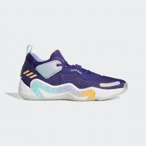 """Баскетбольные кроссовки adidas D.O.N. Issue #3 """"Utah Jazz"""""""