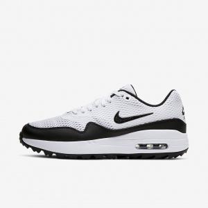 Женские кроссовки для гольфа Nike Air Max 1 G - Белый