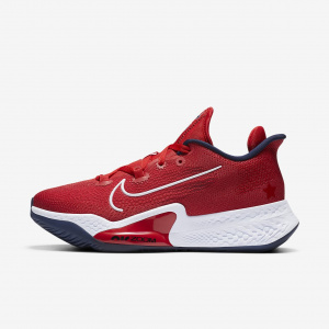 Кроссовки Air Zoom Bb Nxt, Sport Red/White-Obsidian