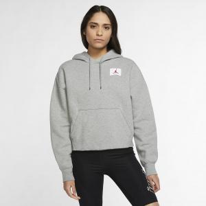 Женская  толстовка Jordan Flight Fleece Pullover Hoodie (CV7737-063)