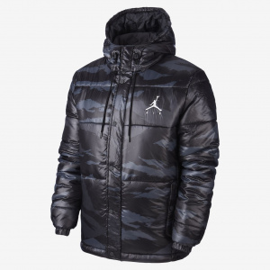 Куртка Jumpman Air Puffer Jacket Camo, Anthracite/White