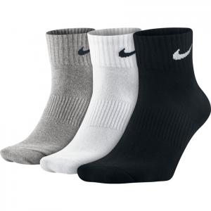 Носки спортивные Nike Lightweight Quarter Socks 3 пары SX4706-901