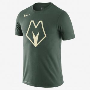 Мужская футболка НБА Nike Dri-FIT Bucks City Edition Logo BV8916-323