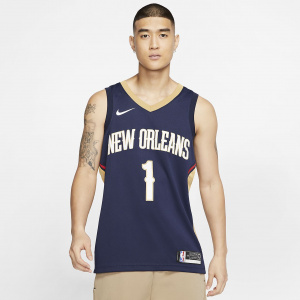 Мужское джерси Nike NBA Swingman Zion Williamson Pelicans Icon Edition