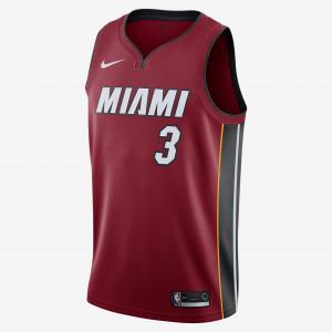 Мужская джерси Nike NBA Swingman Dwyane Wade Heat Statement Edition 877211-612